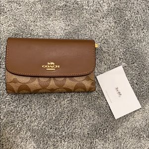 Slightly Used Coach Wallet